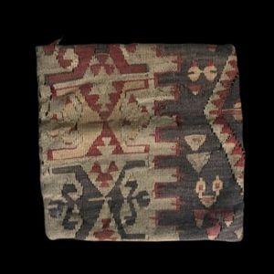 """Vintage Kilim wool turkish pillow case 14"""" x 14"""